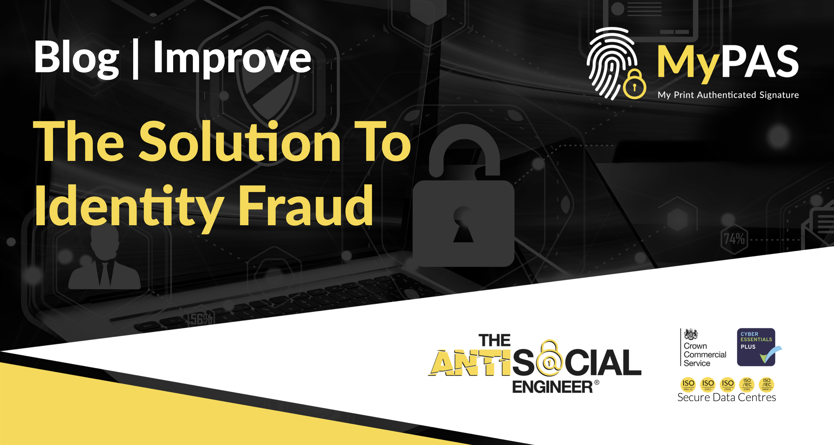 """Featured image for """"The Solution To Identity Fraud"""""""